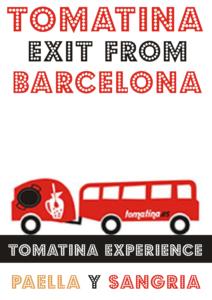 Tomatina salida Barcelona