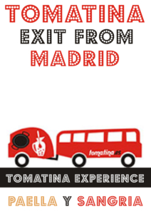 Tomatina salida Madrid