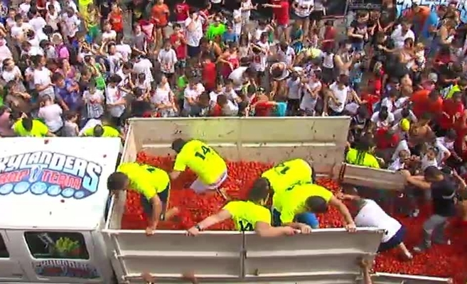 tomatina for children