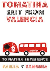 Tomatina salida Valencia